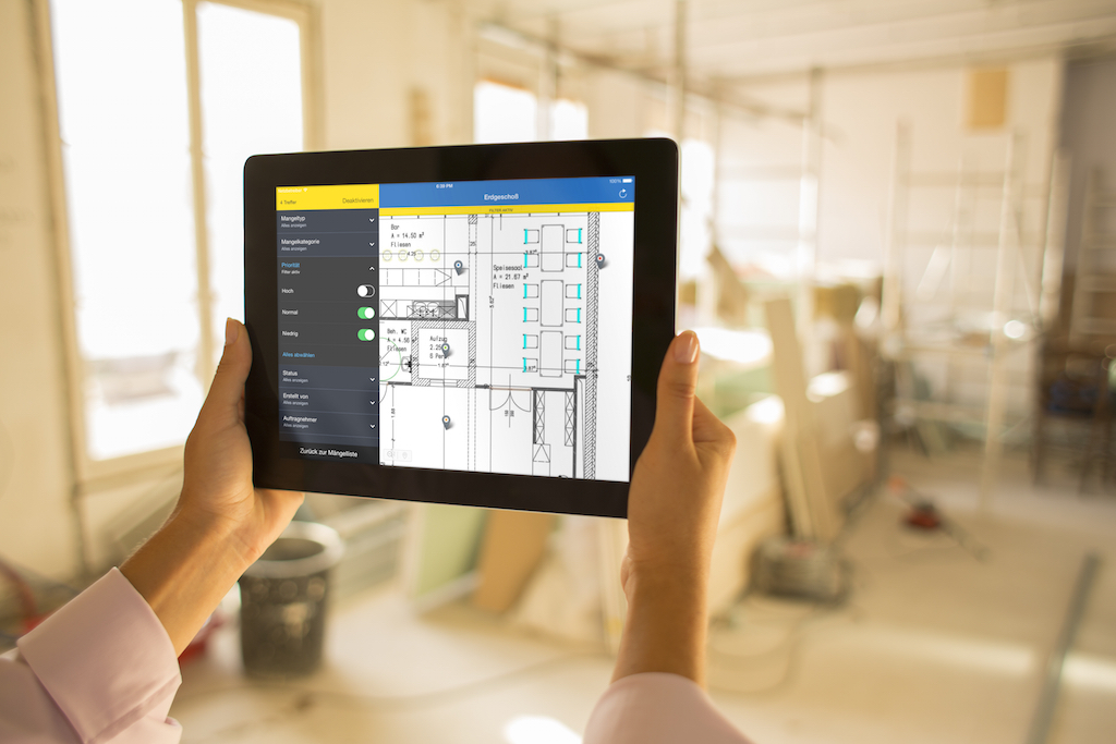 Construction apps for iPad