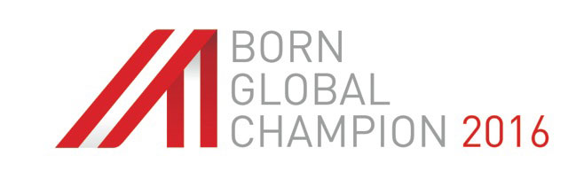 Logo Born Global Champion