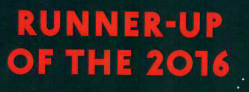 runner-up of the year 2016 logo