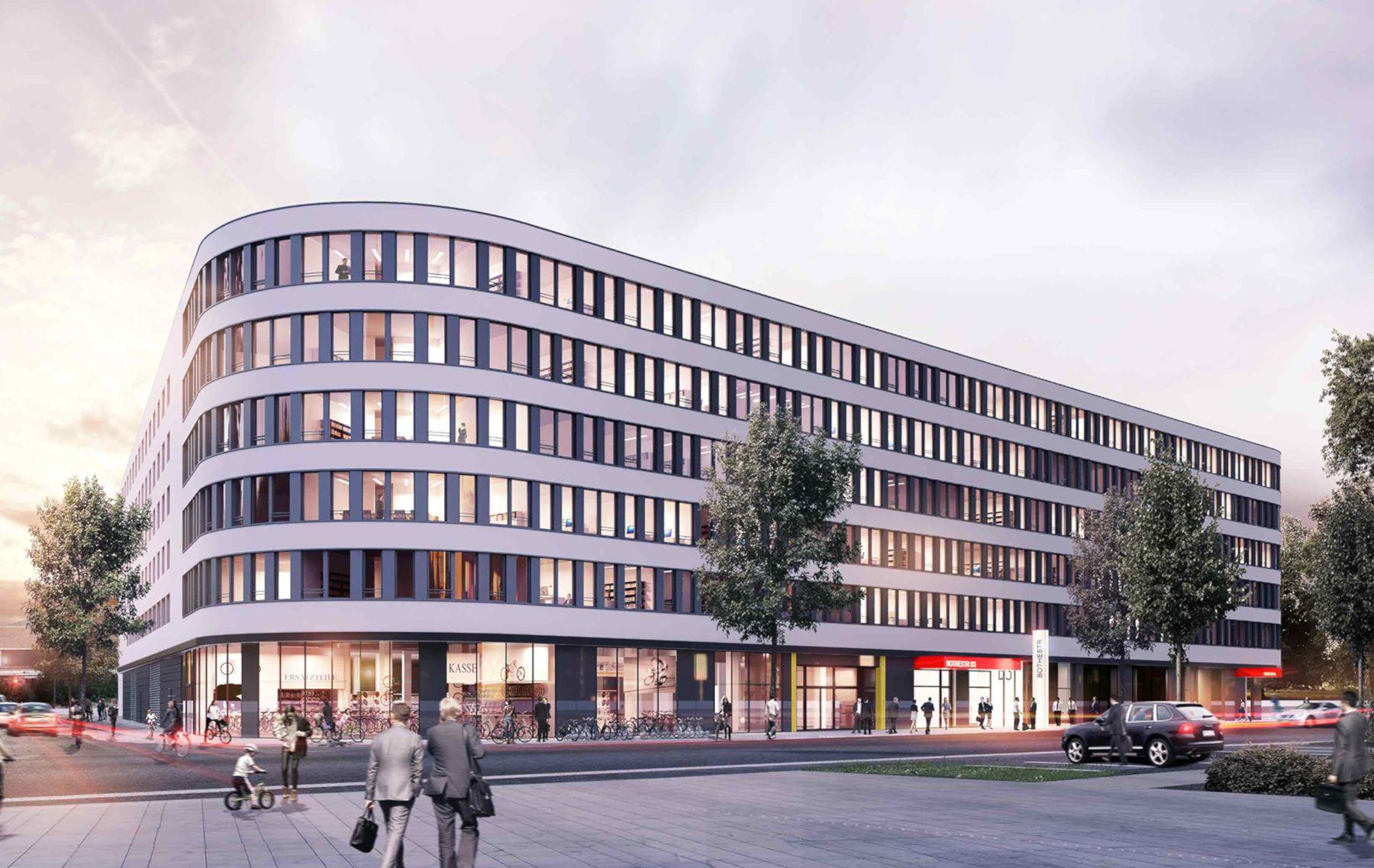 Administratívna budova spoločnosti Leuchtenbergring